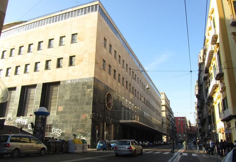 Неаполь - здание городского почтамта