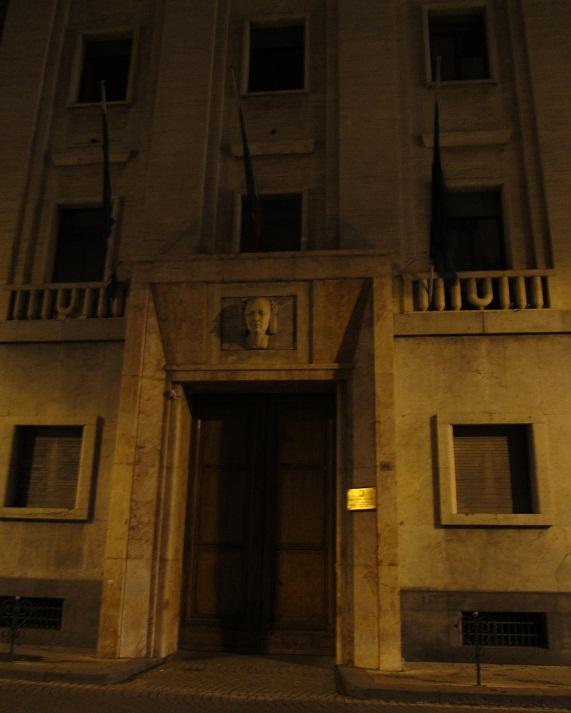 здание фашистской эпохи